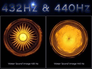 432 Hz vs 440 Hz water image